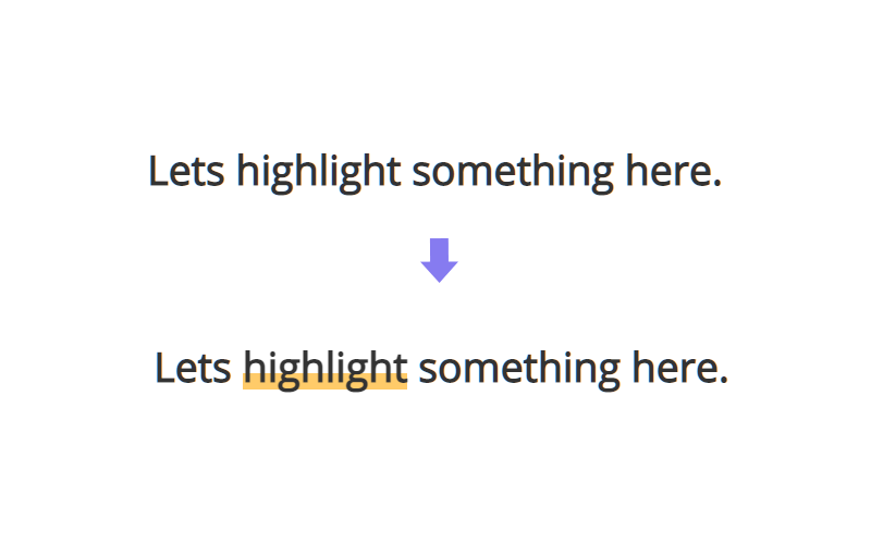 underline effect using background color css